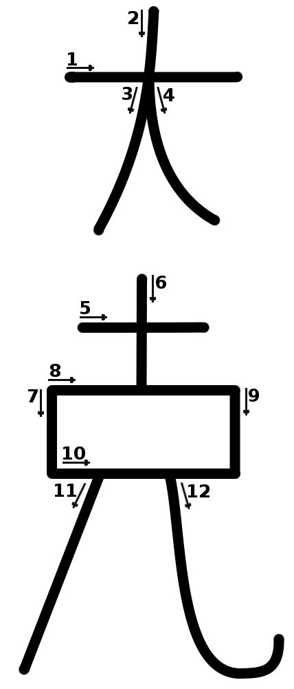 le symbole de la prosp rit dai ko ku reiki dojo. Black Bedroom Furniture Sets. Home Design Ideas